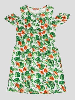 Платье в принт   5073432
