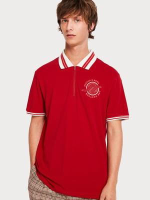 Футболка-поло червона | 5047897