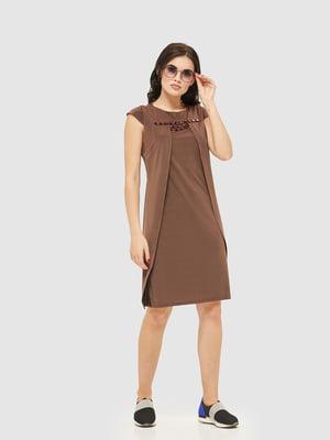 Сукня шоколадного кольору | 2386061