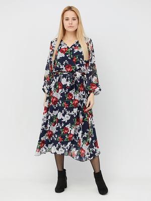 Платье в цветочный принт | 5076448