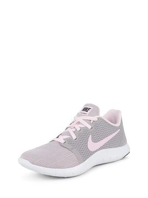 Кросівки сіро-рожеві | 5076432