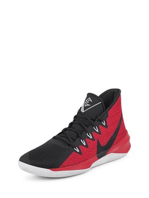 Кроссовки черно-красные | 5076441