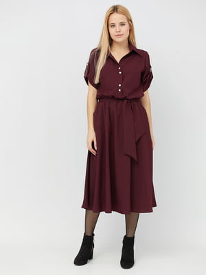 Сукня бордова | 5076499