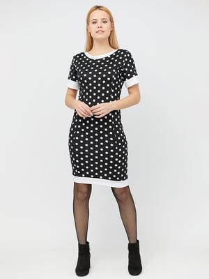 Сукня чорна в горошок | 5076502