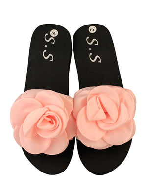 Шлепанцы розовые | 5076517