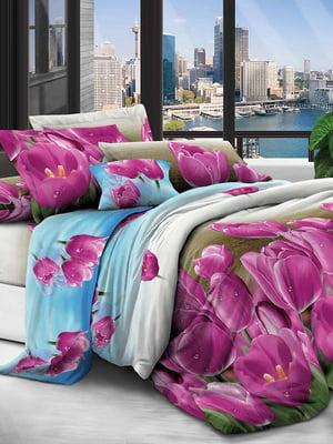 Комплект постельного белья двуспальный | 5076643
