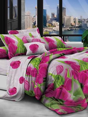 Комплект постельного белья двуспальный | 5076654