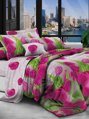 Комплект постельного белья двуспальный (евро) | 5076671