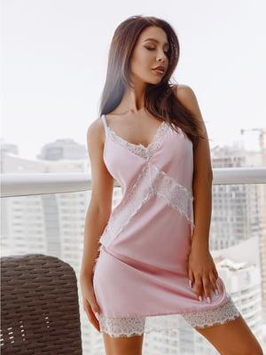 Комбинация розовая | 5069124
