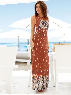 Платье в принт | 5076582