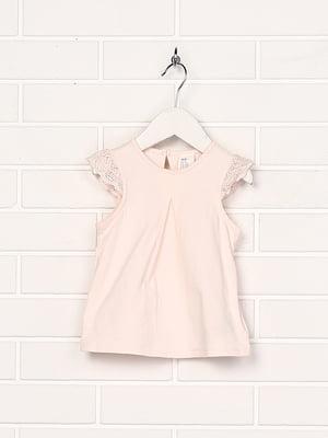 Блуза персикового кольору | 4894292