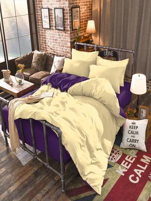 Комплект постельного белья двуспальный (евро) | 5067076