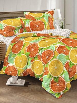 Комплект постельного белья семейный | 5067210
