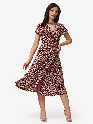 Платье анималистичной расцветки | 5079798