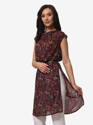 Блуза в квітковий принт | 5079800