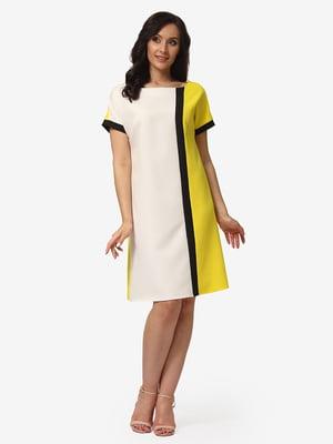 Платье трехцветное | 5079810