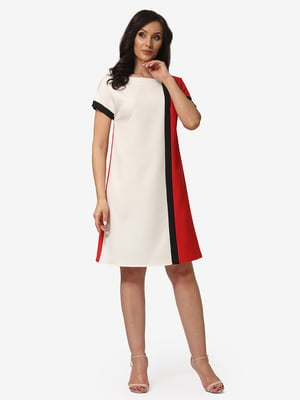 Платье трехцветное | 5079813