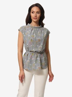 Блуза в квітковий принт | 5079841