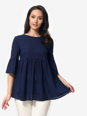 Блуза темно-синяя   5079850