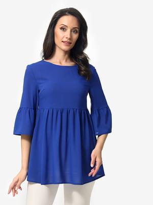 Блуза цвета электрик   5079854