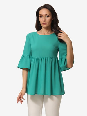 Блуза бирюзовая   5079855
