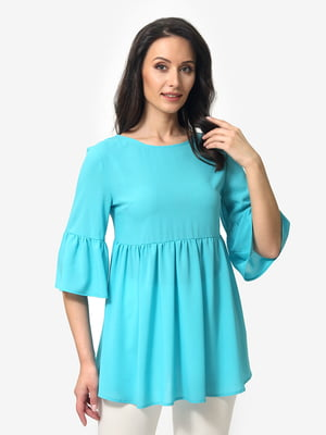 Блуза цвета морской волны   5079856