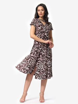 Платье анималистичной расцветки | 5079886