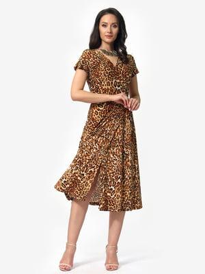 Платье анималистичной расцветки | 5079888