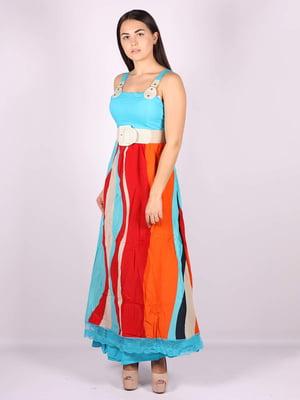 Платье цветное | 5079897