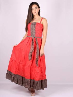 Платье красное | 5079902