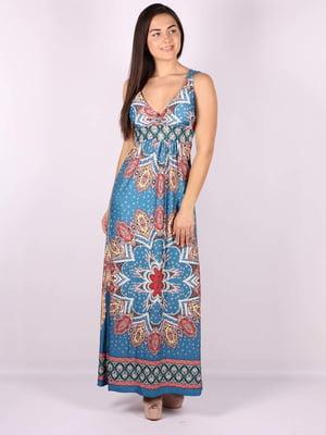 Платье голубое | 5079917