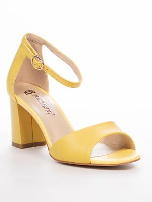 Босоножки желтые | 5077418