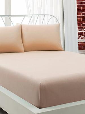 Комплект: простыня (160х200+25 см) и наволочки (50х70 см, 2 шт.) | 4958540