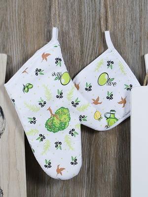 Набір кухонний: рукавиця і прихватка | 5056558