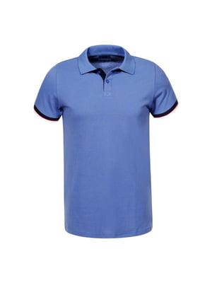 Футболка-поло блакитна | 5075363