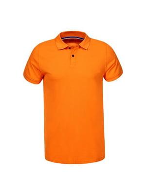 Футболка-поло помаранчева | 5075521