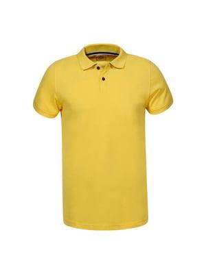 Футболка-поло жовта | 5075872