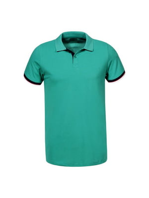 Футболка-поло зелена | 5076010