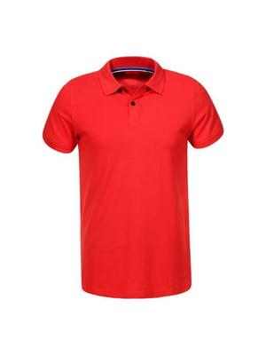 Футболка-поло червона | 5076039