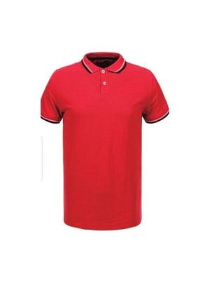 Футболка-поло червона | 5076381