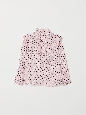 Блуза рожева | 5072804