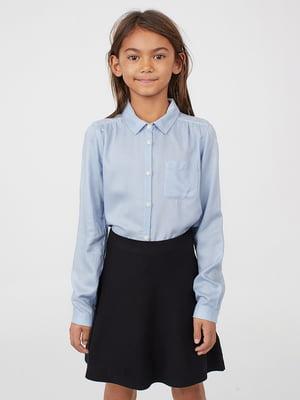 Сорочка блакитна | 5073136