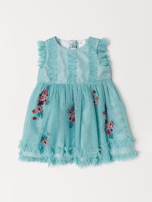 Сукня бірюзова | 5073308