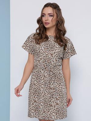 Платье анималистической расцветки | 5080807