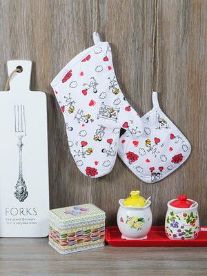 Набір кухонний: рукавиця і прихватка | 5056557