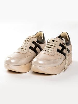 Кроссовки бежевые | 5080810
