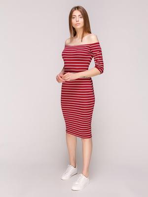 Сукня в смужку | 5080784