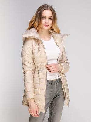 Куртка кольору пудри | 4716579