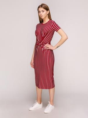 Платье в полоску | 5080841