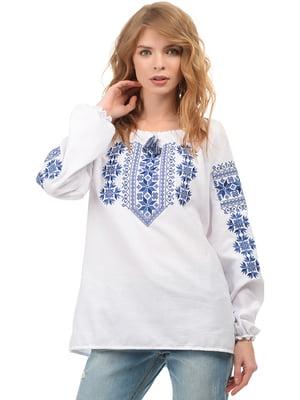 Вышиванка белая - SOPHIE MARIA - 5077593